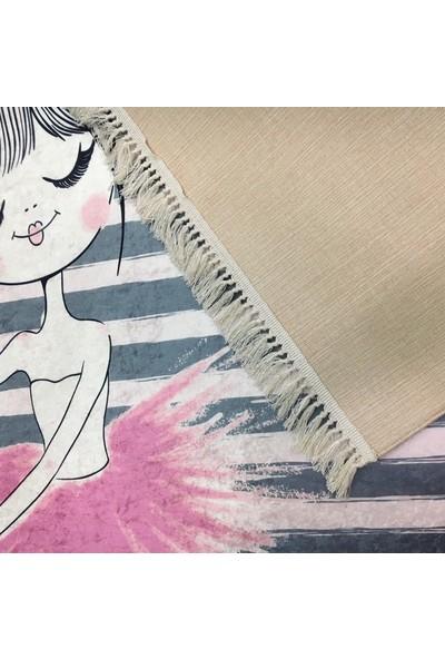 Fustat Life Nil Halı Balerin Kız Çocuk Halısı 80 x 140 cm