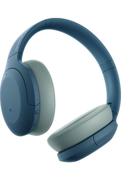 Sony WHH910NL Gürültü Önleyici Bluetooth Kulak Üstü Kulaklık - Mavi