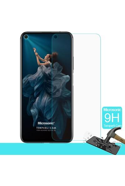 Microsonic Huawei Nova 5T Temperli Cam Ekran Koruyucu