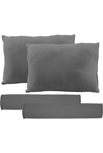 BT Universal-Baskısız Boyun Yastığı Ve Kemer Pedi Gri