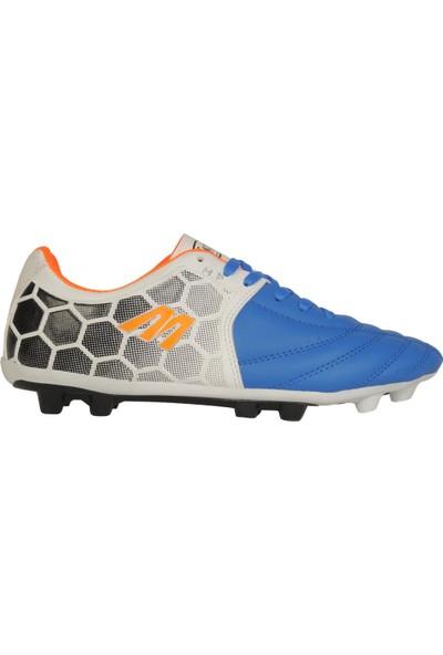Mp 191-7383 Mavi Krampon Erkek Futbol Spor Ayakkabı