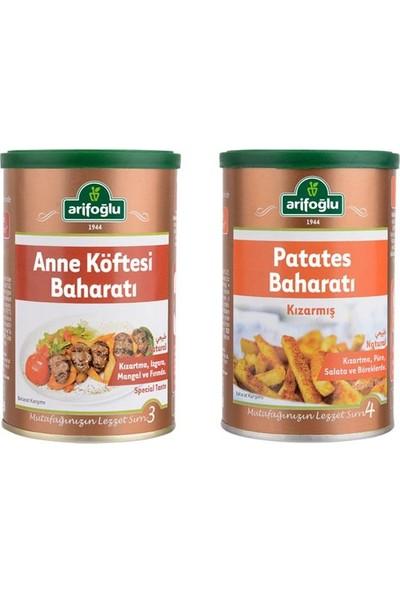 Arifoğlu Anne Köftesi 150 gr x 1 Adet + Kızarmış Patates Baharatı 200 gr x 1 Adet