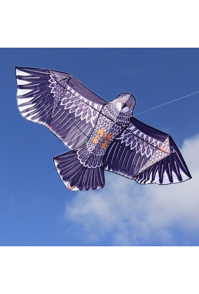 Oyuncakavm Fiberglass 3D Kartal Eagle Kuş Desenli Uçurtma 180 cm