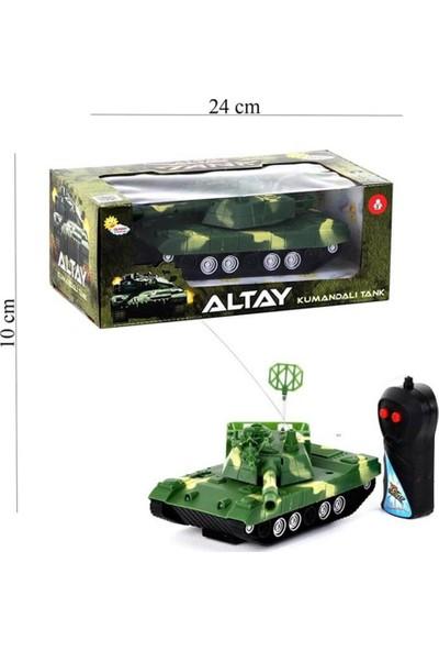 Duman Oyuncak Uzaktan Kumandalı Çift Fonksiyon Pilli Altay Tank