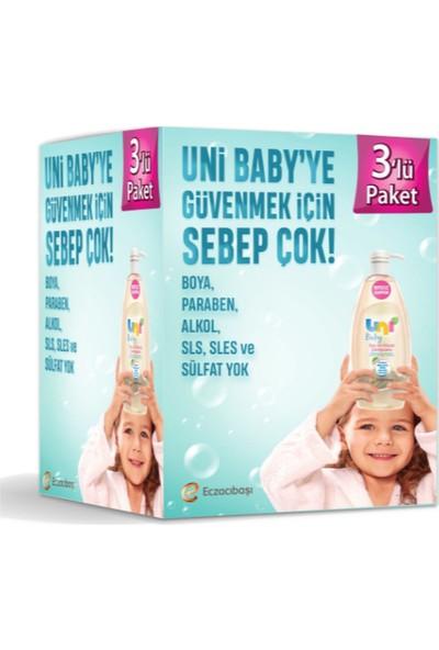 Uni Baby Şampuan 700 ml 3'lü