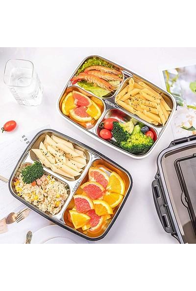 Bento Öğle Yemeği Kutusu Yeniden Kullanılabilir Yemek Taşıma Kapları