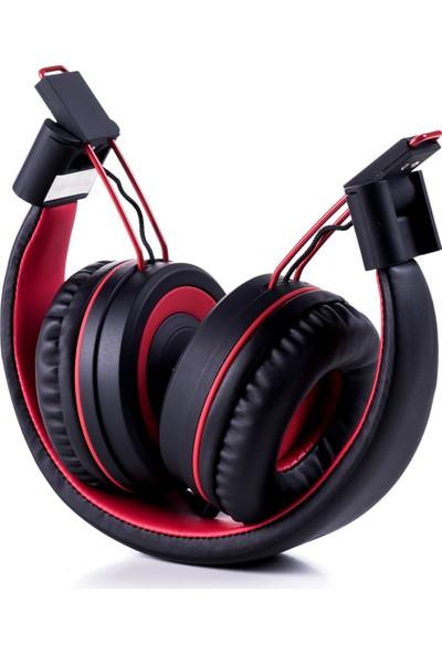 Preo My Sound MS05 Kulaküstü Kulaklık Kırmızı