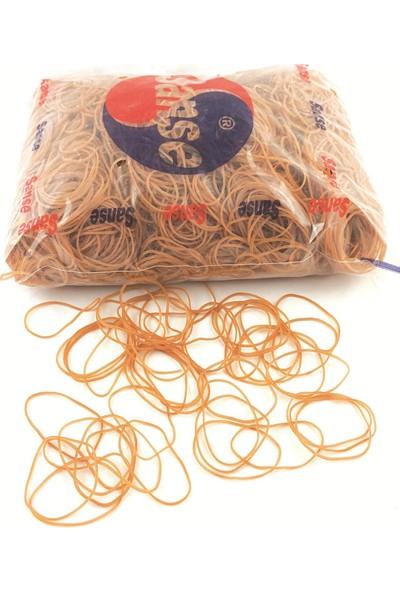 Sanse 70 mm Paket Lastiği 1 kg Toka, Maydanoz, Para Lastiği 3800 Adet
