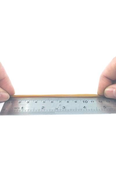 Sanse Geniş Paket Ambalaj Lastiği 120 x 3 mm 1kg Kasa Lastiği 1000 Adet