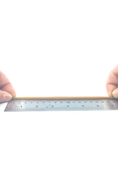 Sanse Geniş Paket Ambalaj Lastiği 180 x 5 mm 1kg Kasa Lastiği 400 Adet