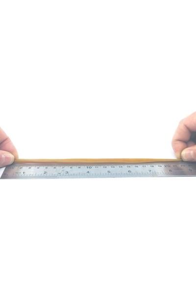 Sanse Geniş Paket Ambalaj Lastiği 220 x 5 mm 1kg Kasa Lastiği 300 Adet