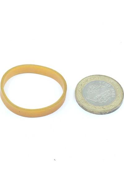 Sanse Geniş Paket Ambalaj Lastiği 50 x 5 mm 1kg Kasa Lastiği 1400 Adet