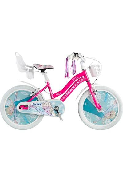 Kron Frozen Lisanslı 20 Jant Çocuk Bisikleti (6-10 Yaş İçin)