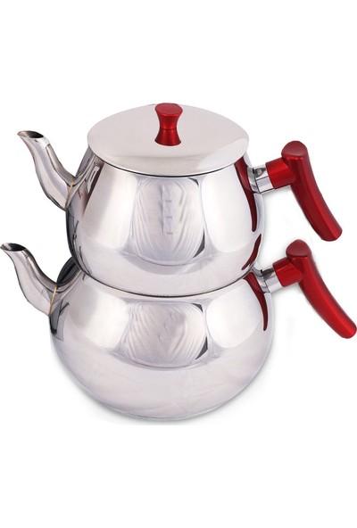 Baron Jumbo Boy Çelik Çaydanlık 6,5 lt