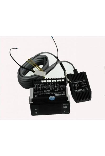 Emko Esm 3722 Kuluçka Makinası Kontrol Cihazı + Sıcaklık ve Nem Sensörü Dahil
