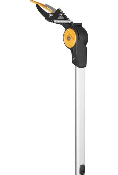 Fiskars 115017-1023634 PowerGear™X Teleskopik Ağaç Budama Makası UPX86 + Testere