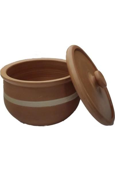 Mogan Çömlekçilik Toprak El Yapımı 5 kg Yoğurtluk / %100 Doğal