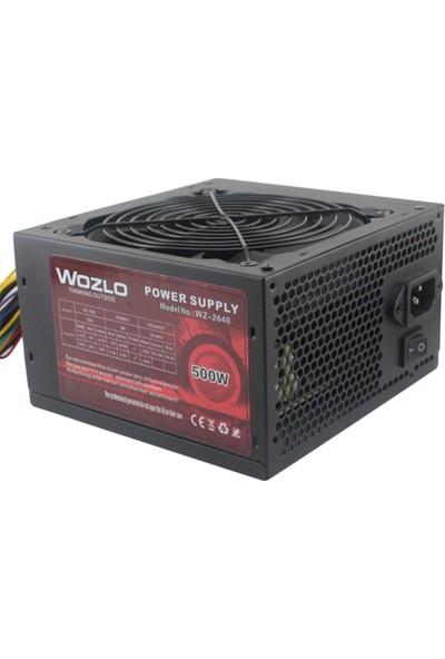 Wozlo WZ-2640 500W PSU 12 cm Güç Kaynağı Fan
