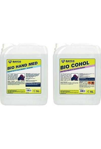 Bayco Bio Hand Med & Bayco Bio Cohol 2'li Set 10 lt