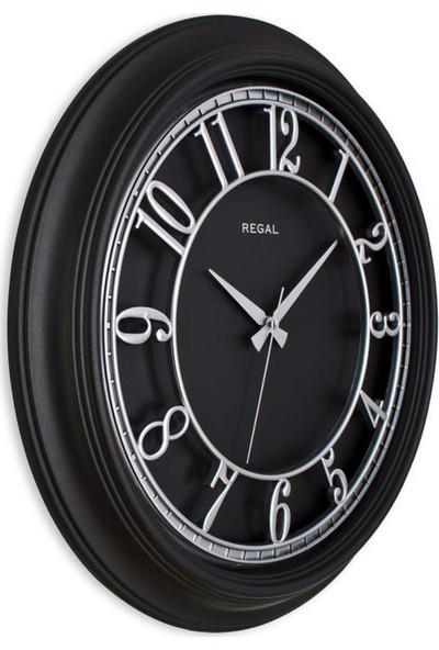 Ultima Regal 9119 Bs Iskelet Kadran Retro Duvar Saati Gümüş 46 cm