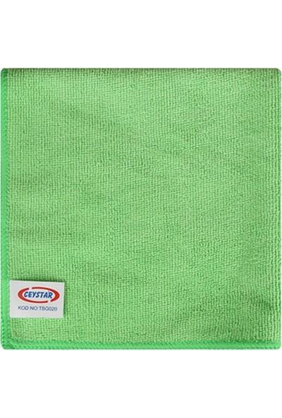 Ceystar Mikrofiber Temizlik Bezi Yeşil