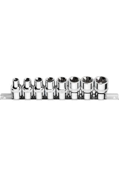 Ceta Form C26 - R08 8 Parça 1/2'' Dış Torx Lokma Anahtar Takımı