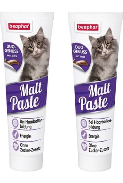 Beaphar Duo Malt Paste Tüy Yumağı Kontrol Kedi Macunu 100 gr - 2 Adet