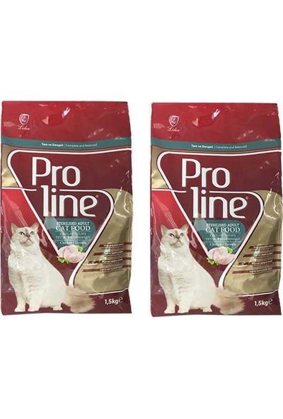 Pro Line Sterilised Kısır Kedi Maması 1.5 kg - 2 Adet