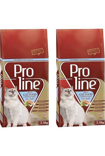 Pro Line Optimum Balıklı Yetişkin Kedi Maması 1.5 kg - 2 Adet