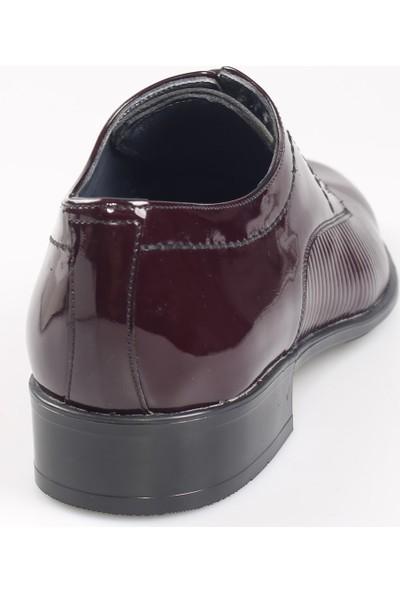 Jakamen Erkek Bordo Classic Ayakkabı