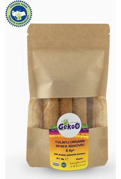 Gekoo Organik Yulaflı Bebek Bisküvisi 150 gr