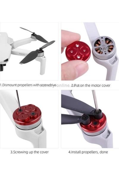 Sunnylife DJI Mavic Mini Red Upgrade Motor Cover