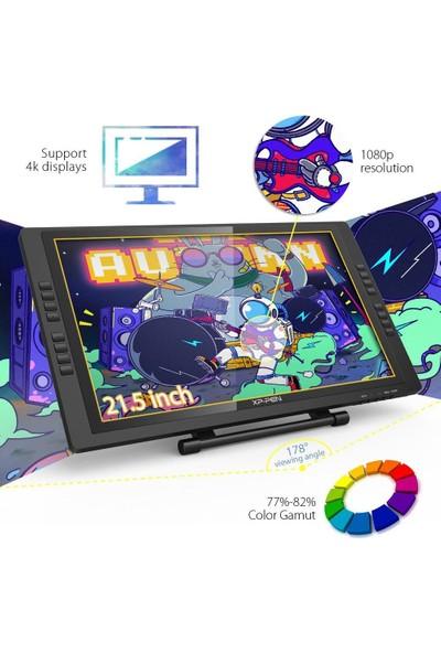 Xp-Pen ARTIST22E Pro Drawing Pen Display Grafik Ekran IPS Monitor 8192 Level Pen