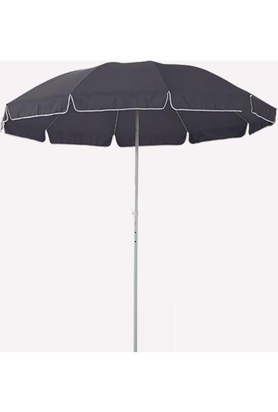 Sunfun 250 cm Bahçe Şemsiyesi Polyester Örtülü Bahçe Balkon Şemsiyesi