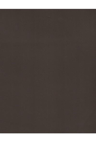 Poseidon alev Almaz Özellikli Marıne Yat Döşemelik Suni Deri Kumaş Kahverengi
