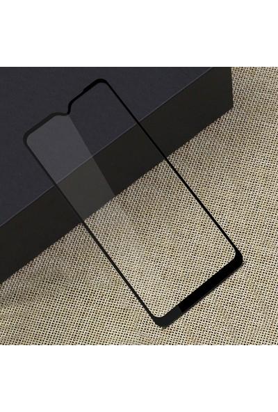 Ally Lg K50S 3D Full Kaplama Tempered Cam Ekran Koruyucu AL-31698 Siyah