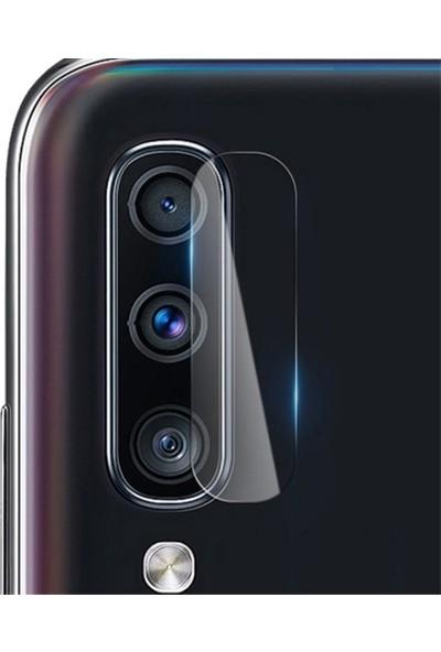 Ally Samsung Galaxy A40s Tempered Ekran Koruyucu Cam AL-31721 Şeffaf