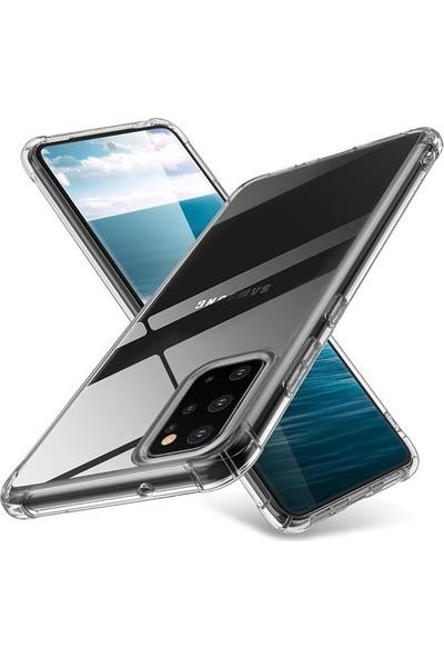 Ally Samsung Galaxy A51 Anti-Drop Darbe Emici Silikon Kılıf AL-31740 Şeffaf
