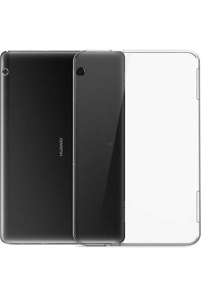 "Ally Huawei Mediapad T5 10.1"" Şeffaf Tpu Soft Silikon Kılıf AL-31837 Şeffaf"