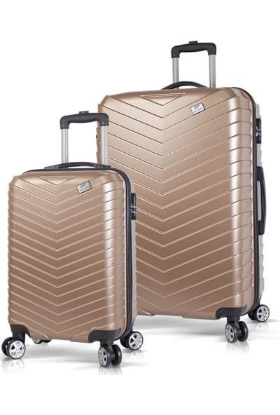 Bavyera Cruise Abs 2li Valiz, Bavul Seti (Büyük+Kabin Boy)