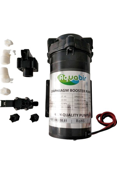 Aquabir Su Arıtma Cihazı Pompası 75 - 100 Gpd Cihazlar Için