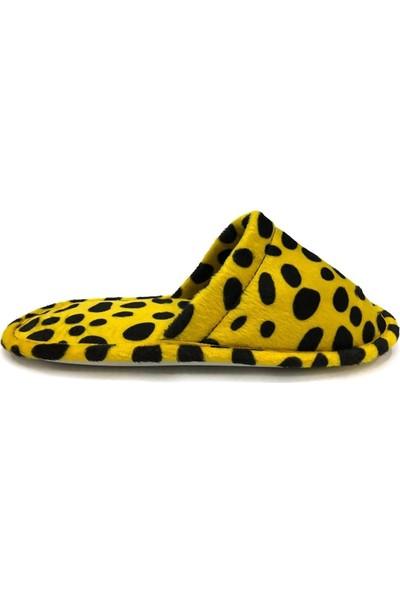 Safari Sarı Ev Terliği