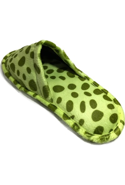 Safari Yeşil Kadın Ev Terliği