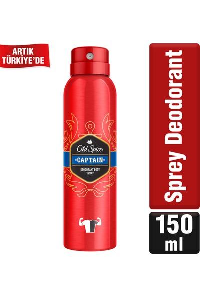 Old Spice Sprey Deodorant 150 ml Captain