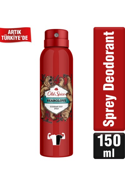 Old Spice Sprey Deodorant 150 ml Bearglove