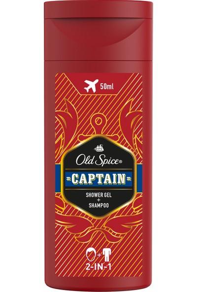 Old Spice Duş Jeli & Şampuan 50 ml Captain