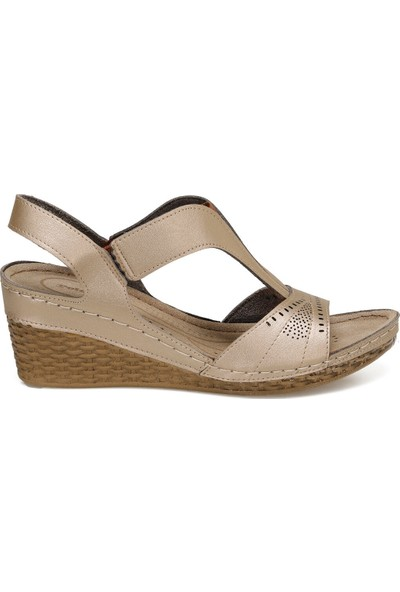 Polaris 91.150773.Z Bronz Kadın Sandalet