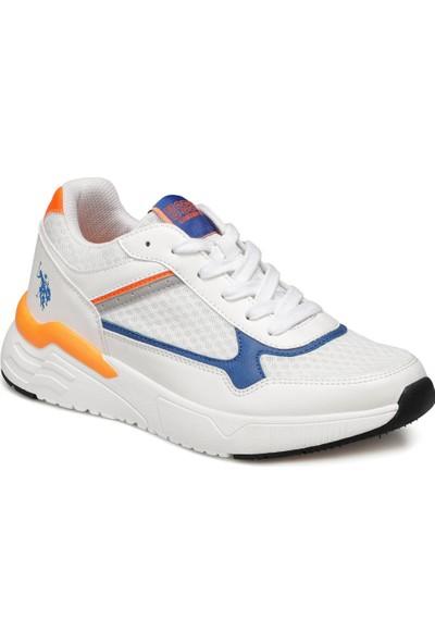 U.S. Polo Assn. Sun Beyaz Erkek Spor Ayakkabı