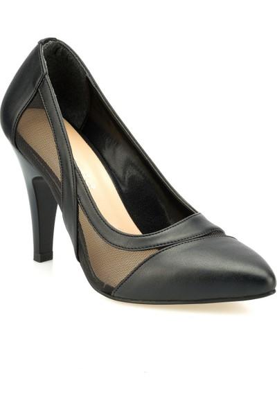 Polaris 315116.Z Siyah Kadın Gova Ayakkabı