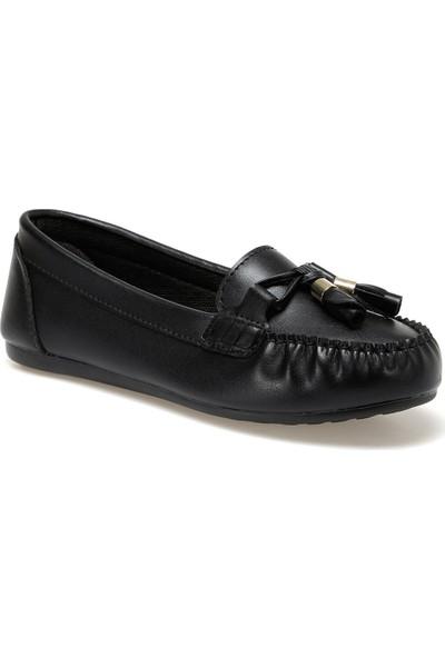 Miss F Ds20053 Siyah Kadın Loafer Ayakkabı